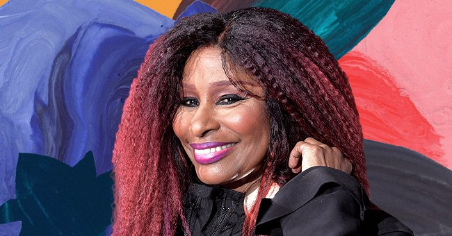 Chaka Khan Looks Stunning at 68 in a Skintight Romper, Thigh-High Boots, and a Fluffy Cape