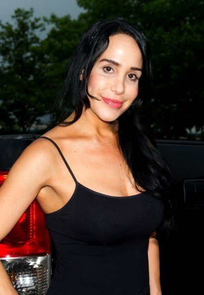 Nadya Suleman at Fox And Hound on June 22, 2012 in King of Prussia, Pennsylvania. | Photo: Getty Images