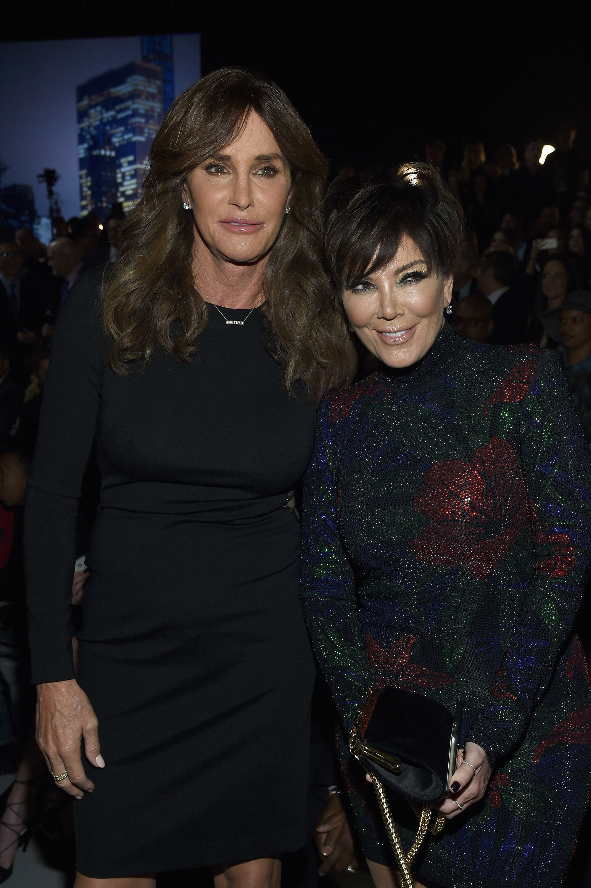Caitlyn Jenner and Kris Jenner attend the 2015 Victoria's Secret Fashion Show | Source: Getty Images