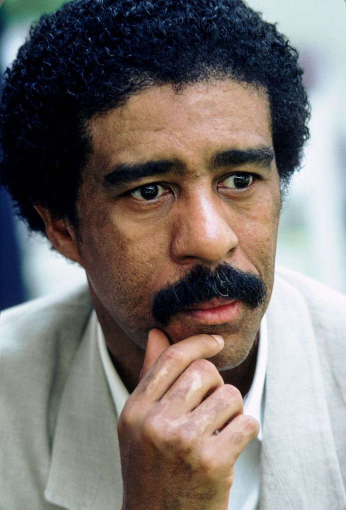 Richard Pryor in June 1983 at an unspecified location.   Source: Getty Images