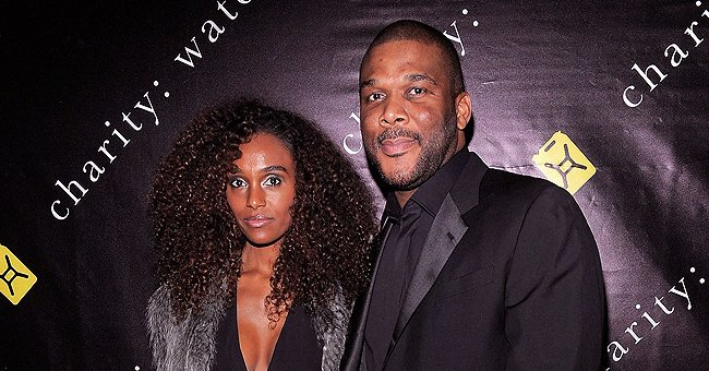 Tyler Perry's Ex Gelila Bekele Makes Hearts Swell Showing off Her Figure in a Peach Silk Dress