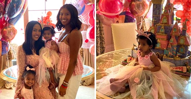 Vanessa and Kobe Bryant's Daughter Capri Celebrates 1st Birthday in Cute Dress and a Pink Crown