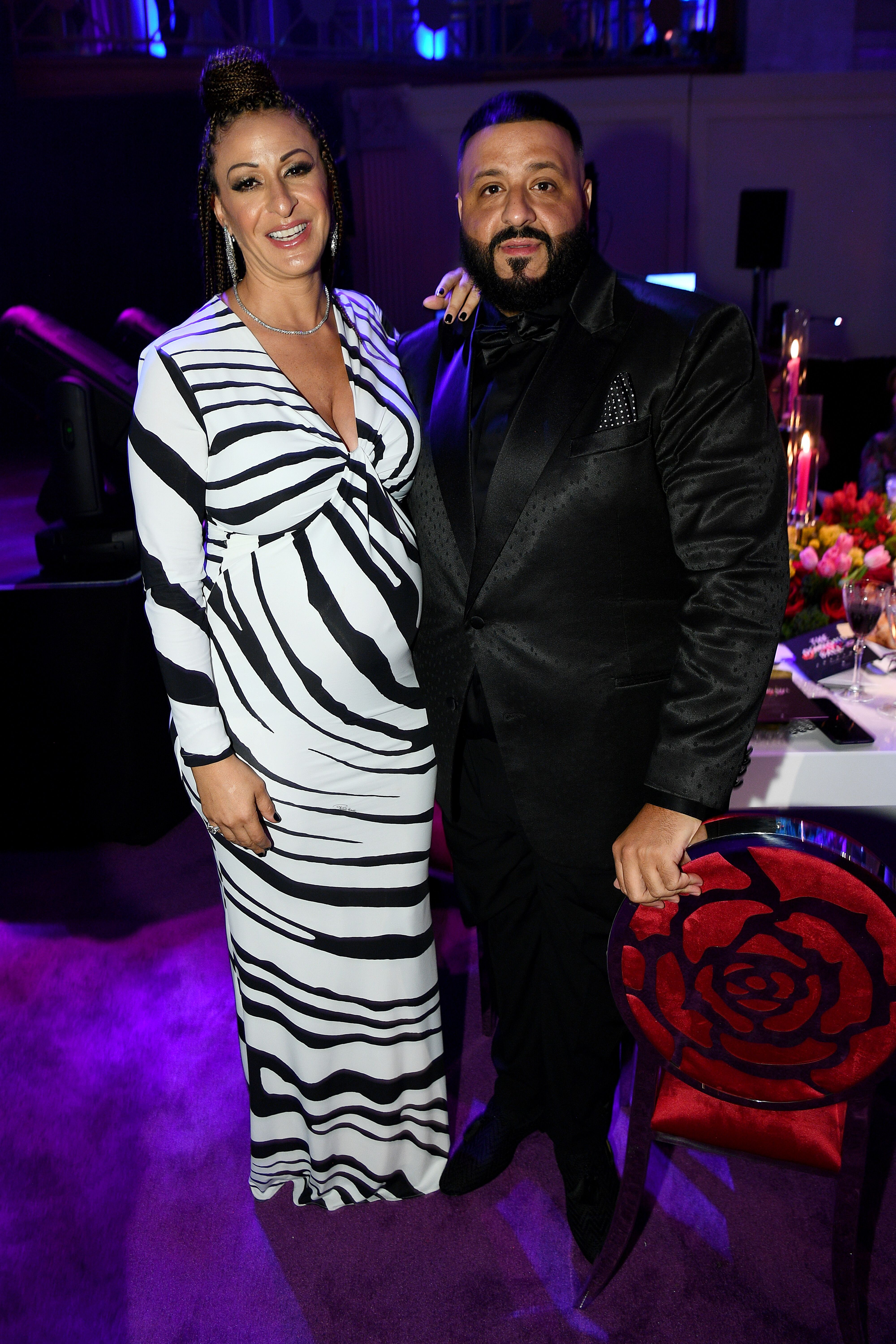 Nicole Tuck and DJ Khaled at the 5th Annual Diamond Ball in September 2019. | Photo: Getty Images