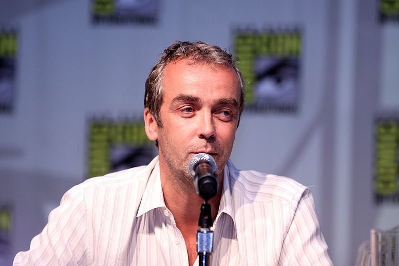 John Hannah on the Spartacus: Blood and Sand panel. | Source: Wikimedia Commons