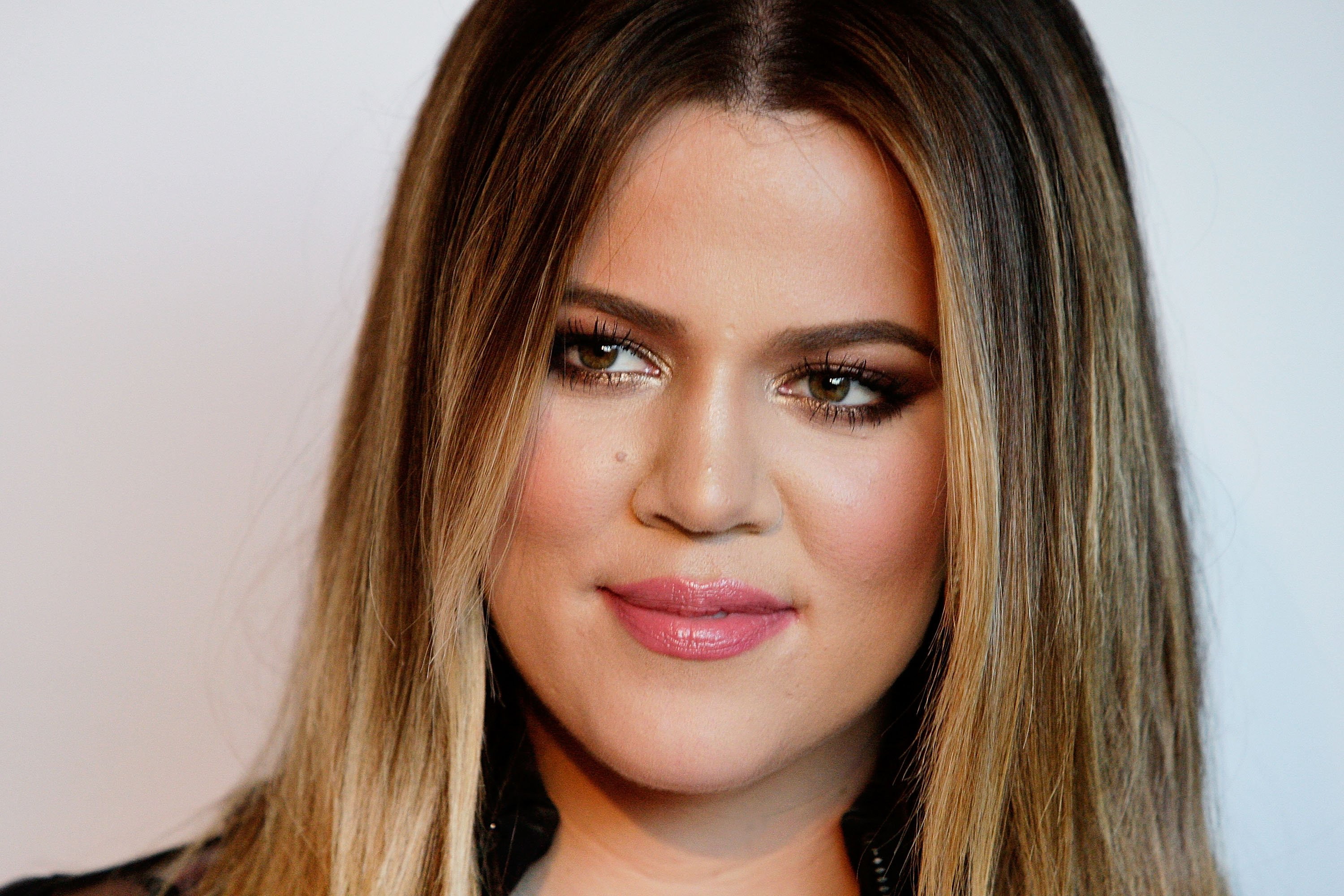 Khloe Kardashian during the Kardashian Kollection cocktail part. | Source: Getty Images