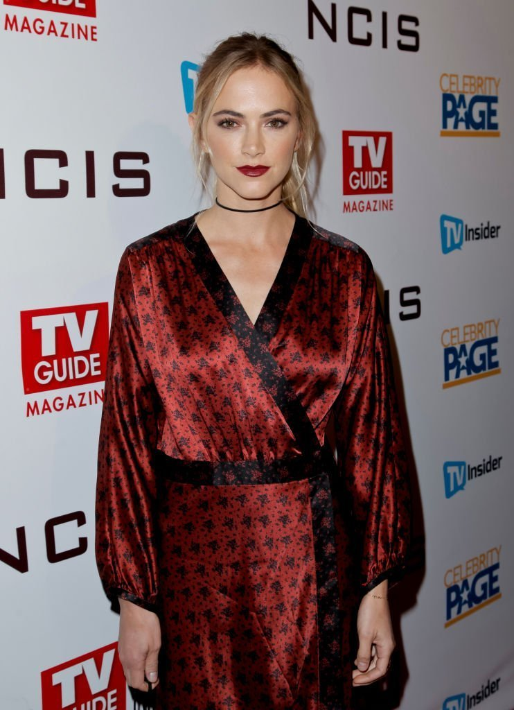 Emily Wickersham attends TV Guide Magazine's and CBS's celebration of Mark Harmon and 15 seasons of NCIS | Getty Images