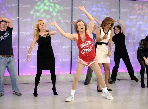 "Richard Simmons on NBC News' ""Today"" show.