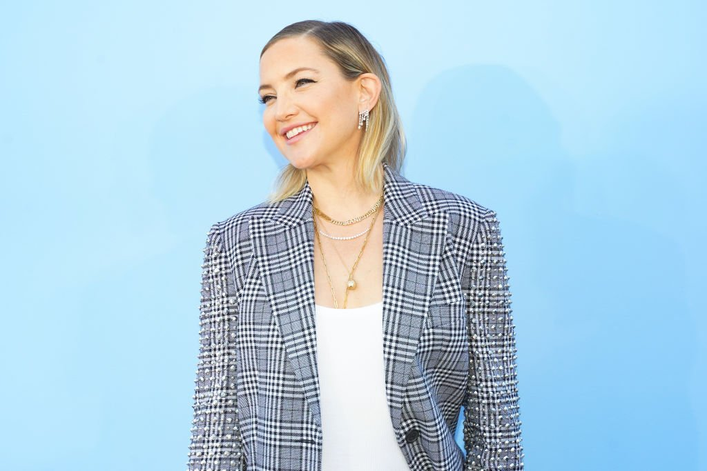 Kate Hudson at the Michael Kors S/S 2020 Fashion Show at Duggal Greenhouse on September 11, 2019   Photo: Getty Images