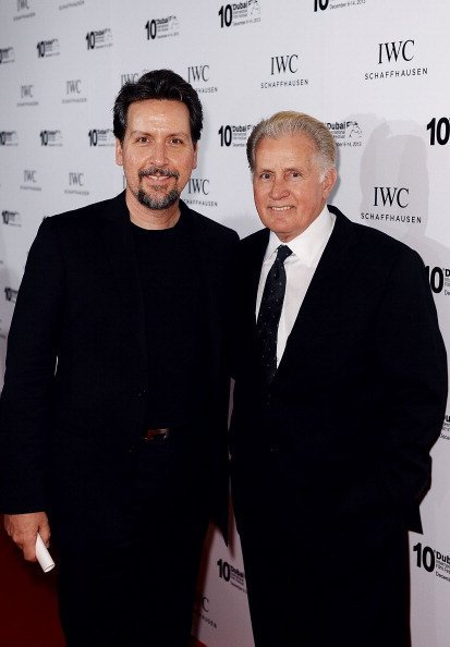 Ramon Estevez and Martin Sheen attend the IWC Schaffhausen For The Love Of Cinema IWC Filmmakers Award 2013 at One And Only Royal Mirage on December 7, 2013, in Dubai, United Arab Emirates. | Source: Getty Images.