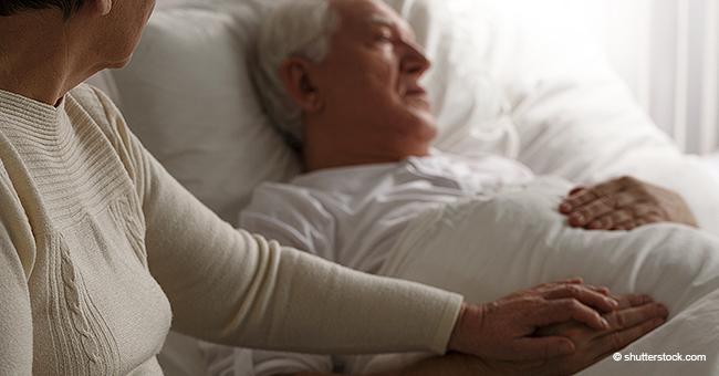 79-jähriger Mann auf Sterbebett enthüllt der Frau, dass er sie betrogen hat