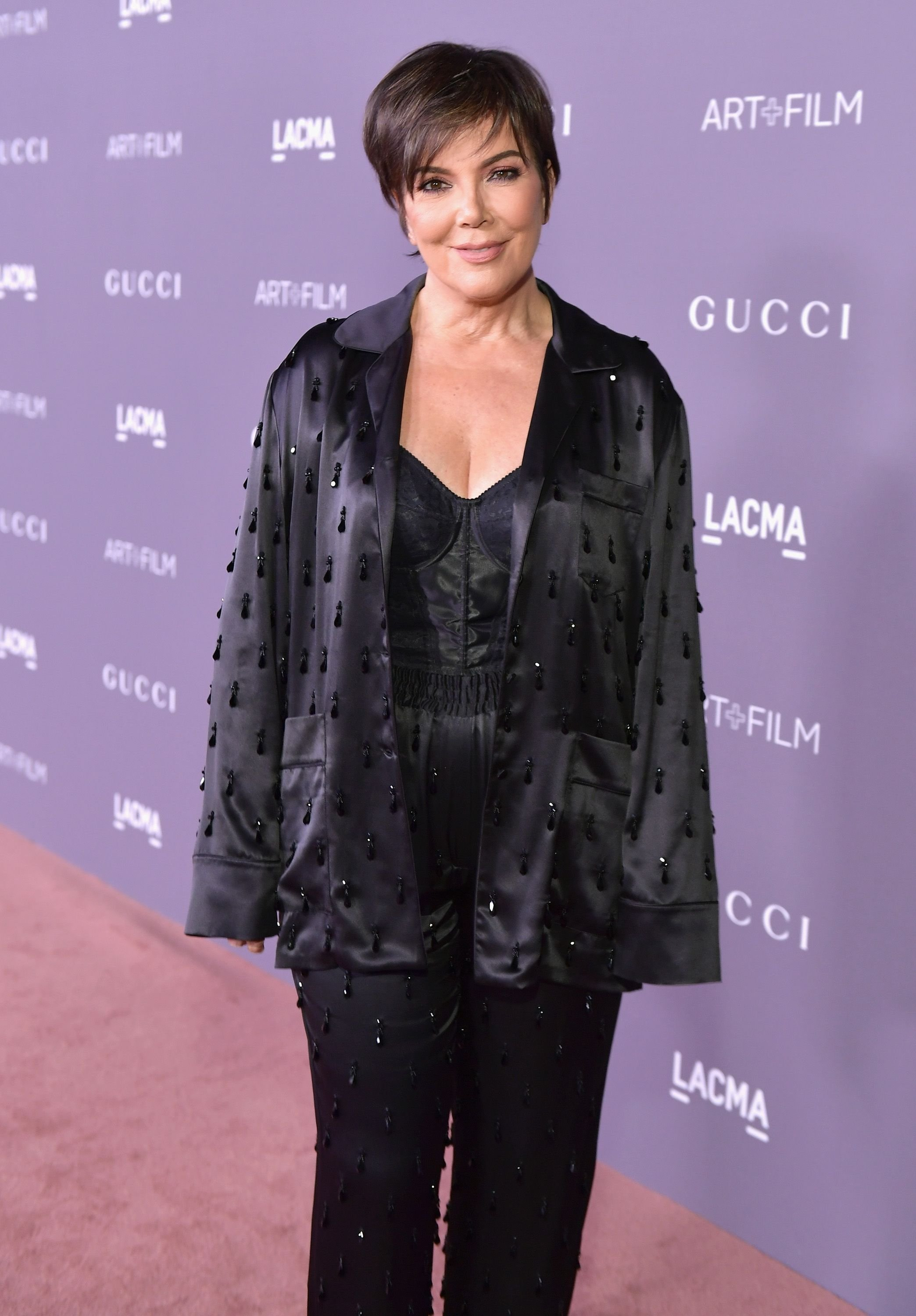 Kris Jenner at the 2017 LACMA Art + Film Gala Honoring Mark Bradford and George Lucas presented by Gucci at LACMA on November 4, 2017 | Photo: Getty Images