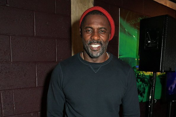 "Idris Elba at the press night after party for ""Tree"" at The Young Vic in London, England.