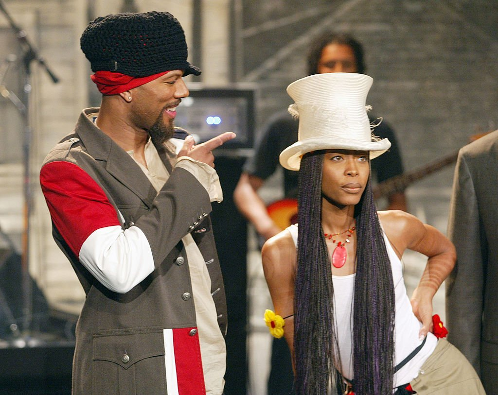 "Common and Erkyah Badu at ""The Tonight Show with Jay Leno"" in September 2002. 