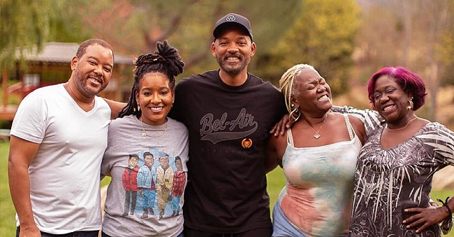 Will Smith, His Twin Siblings & Sister Smile in Rarely-Seen Photo Proving Their Likeness