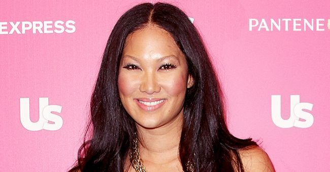 Kimora Lee Simmons' Daughter Aoki Wears Mom's Black and White Top in New Pictures