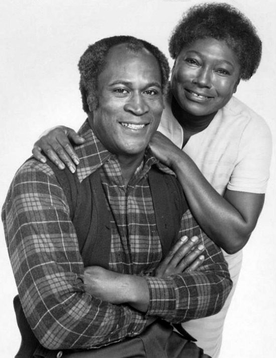"""John Amos and Esther Rolle, for """"Good Times,"""" 1974 