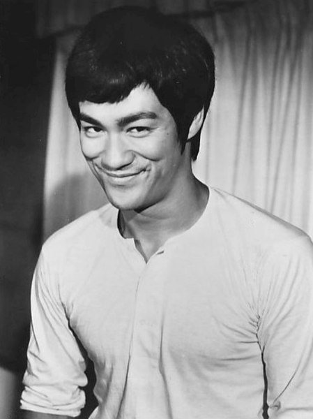 """Bruce Lee from the film """"Fists of Fury,"""" June 14, 1973.   Source: Wikimedia Commons"""