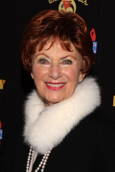 Marion Ross attends the Broadway Backwards 5 concert at the Vivian Beaumont Theatre at Lincoln Center on February 22, 2010, in New York City. | Source: Getty Images.