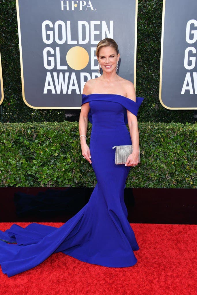 Natalie Morales attends the 77th Annual Golden Globe Awards at The Beverly Hilton Hotel on January 05, 2020    Photo: Getty Images
