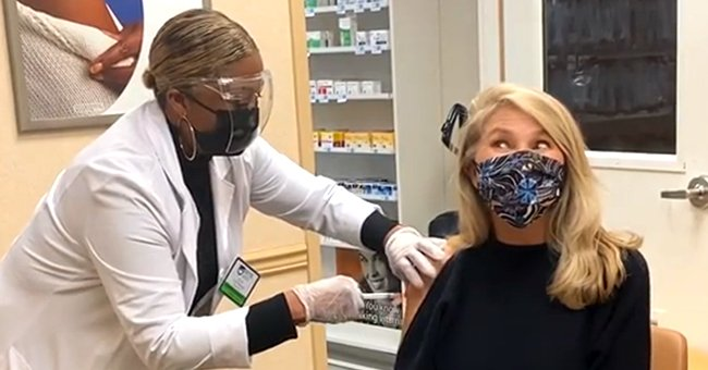 Christie Brinkley Gets 2nd Dose of COVID-19 Vaccine & Shares Hope of Socializing Again