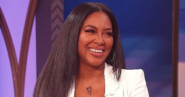 Kenya Moore's Daughter Brooklyn Eating Popcorn in Video Has Fans Gushing over How Cute and Adorable She Is