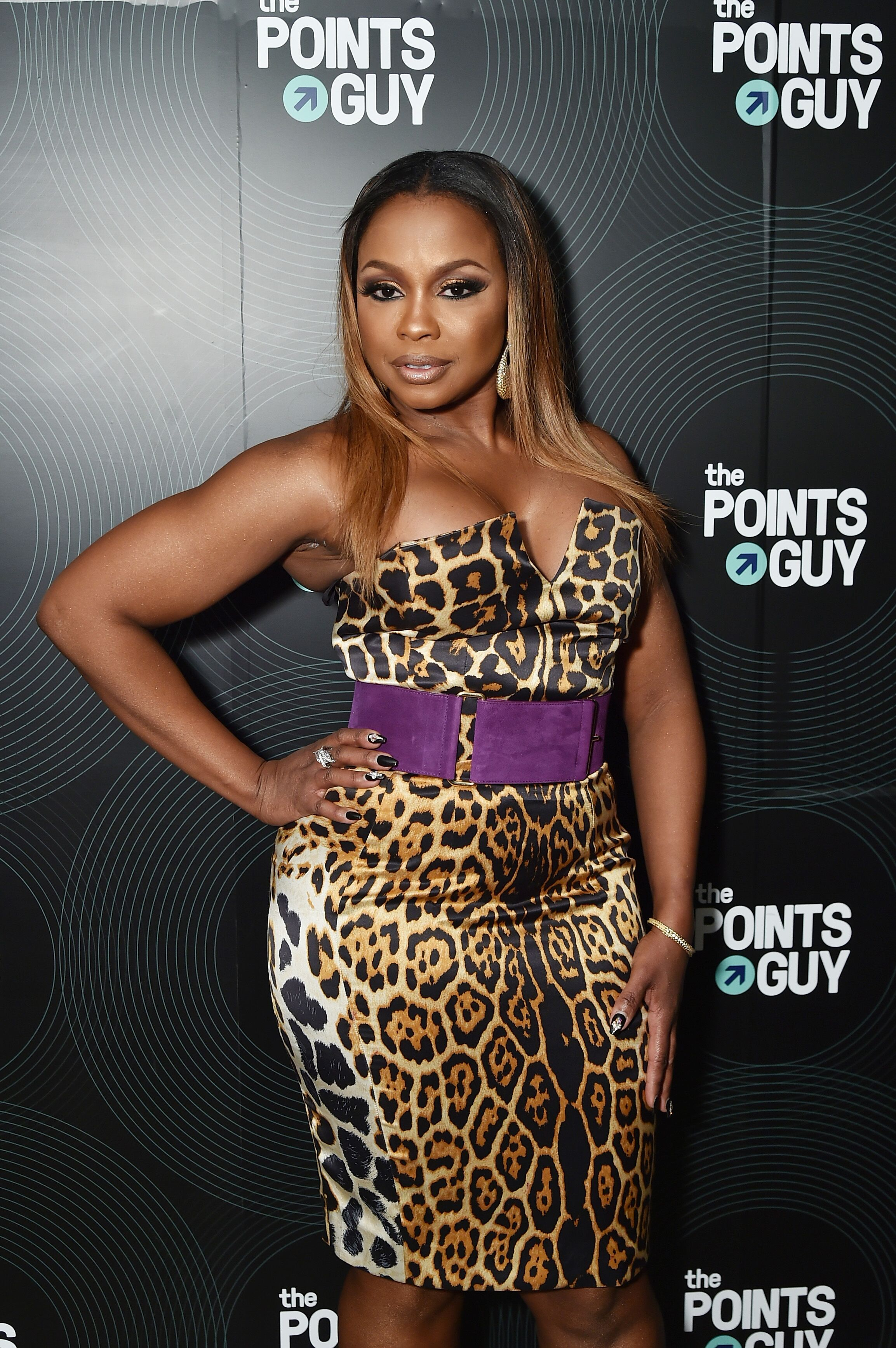 Phaedra Parks at The Points Guy Presents TPG Soundtracks Pre-Grammy Party in 2018/ Source: Getty Images