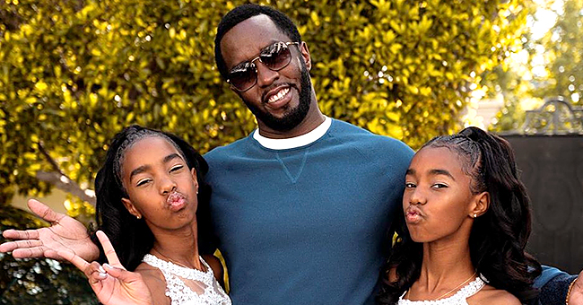 Diddy Honors Kim Porter as He Celebrates Twin Daughters' 8th-Grade Graduation