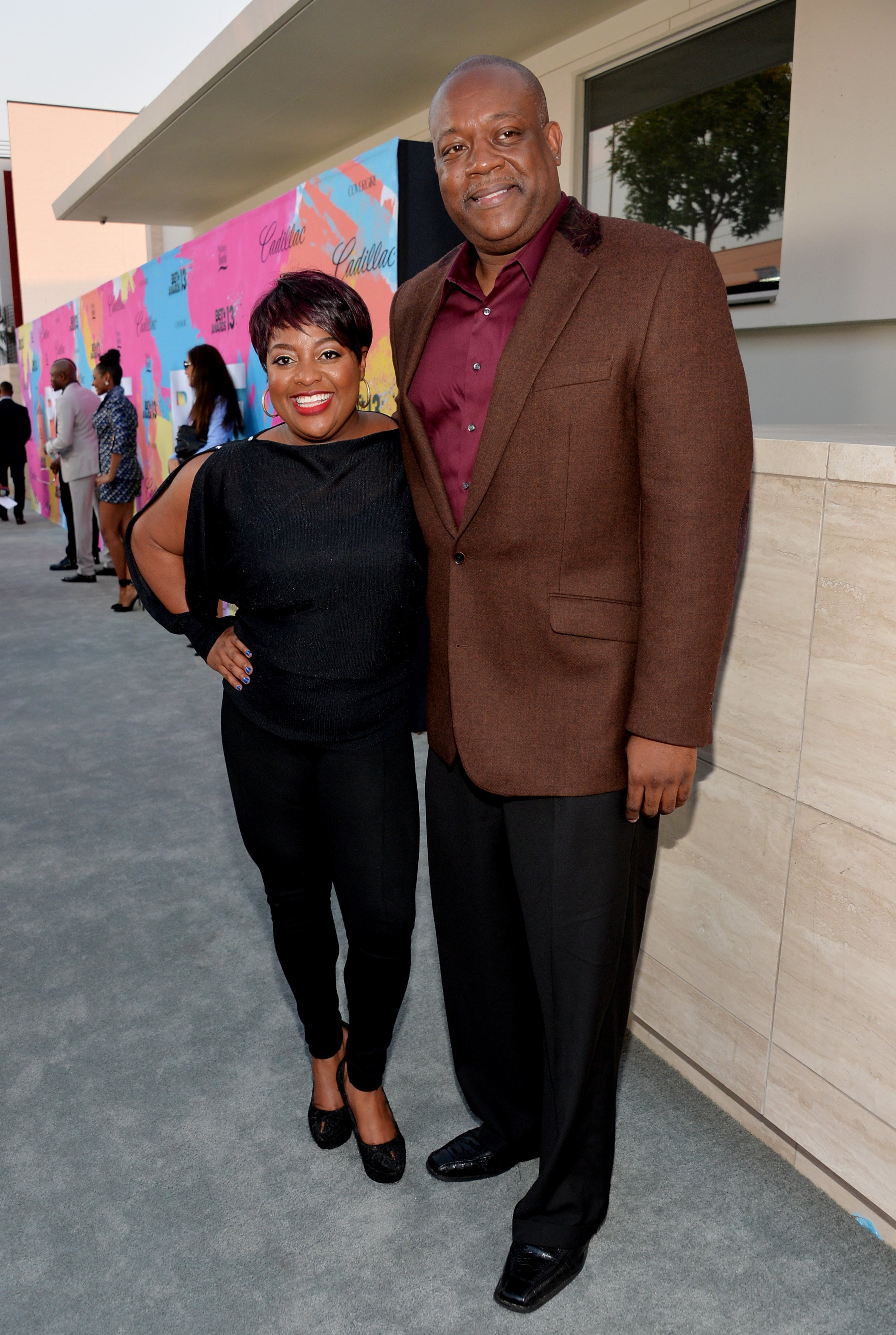(Before the split) Sherri Shepherd & Lamar Sally at a Pre-BET Awards Celebration Dinner on June 29, 2013 in LA. |Photo: Getty Images