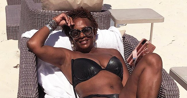Vanessa Bell Calloway Shows Her Curves in a Bikini during Early B-Day Getaway with Her Husband