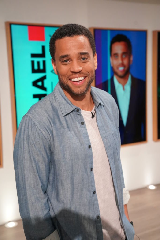 """Michael Ealy visits """"The Talk"""" on February 21, 2020. 