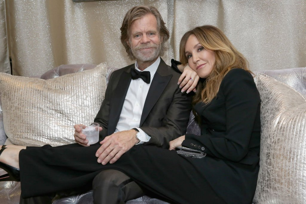 William H. Macy and Felicity Huffman Backstage At The 70th Emmy Awards, September 17, 2018 | Photo: GettyImages