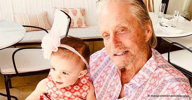 Michael Douglas Shares the Cutest Family Photo with His Father, Son and Granddaughter