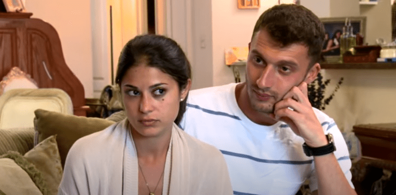 """Loren and Alexei on an episode of """"90 Day Fiance""""  Source: YouTube/ 90 Day Fiance"""
