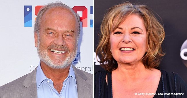 'Fraiser' star Kelsey Grammer says Roseanne Barr should be forgiven for posting a racist tweet