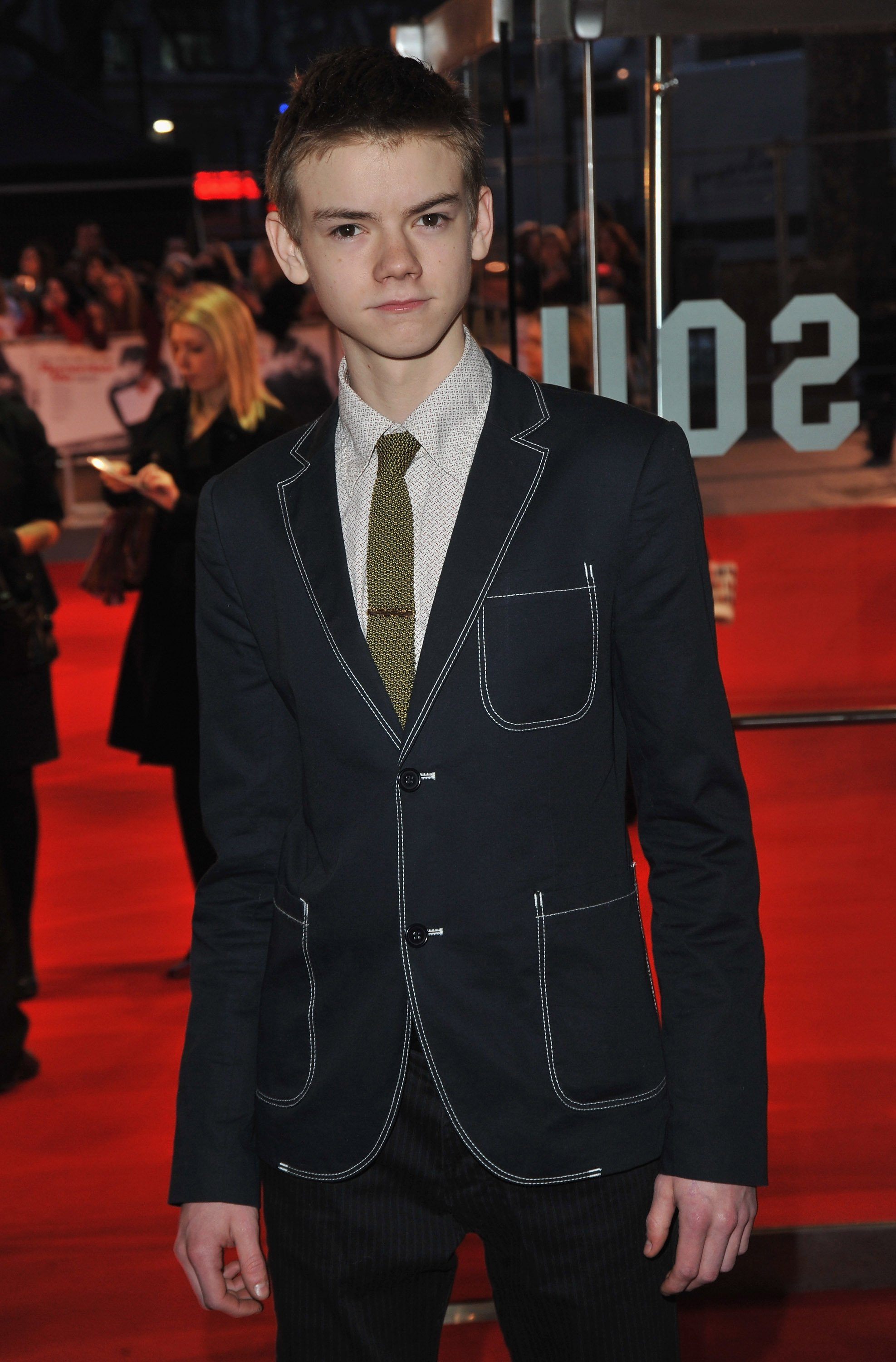 Thomas Sangster attends the 'Remember Me' film premiere at the Odeon Leicester Square on March 17, 2010 | Photo: Getty Images