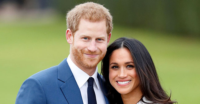 Prince Harry and Meghan Markle's Rare Family Photo Goes on Display during an Official Meeting