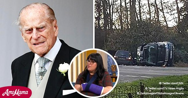 Woman involved in royal car crash said she has sadly not received an apology from Prince Philip