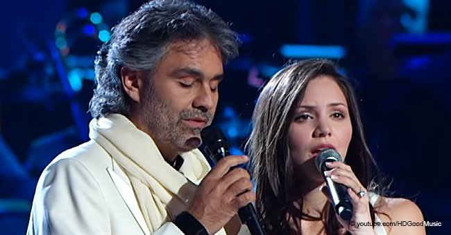 Amazing Throwback Video of Andrea Bocelli Performing 'The Prayer' with Katharine McPhee