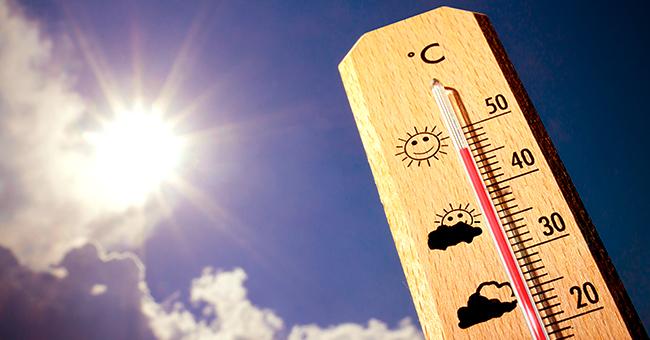 Énorme vague de chaleur jusqu'à 40°C arrivant en France