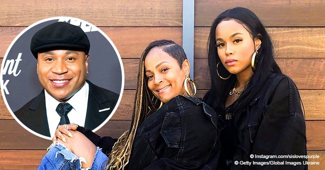 LL Cool J's wife & daughter display strong genes, looking like sisters in pic