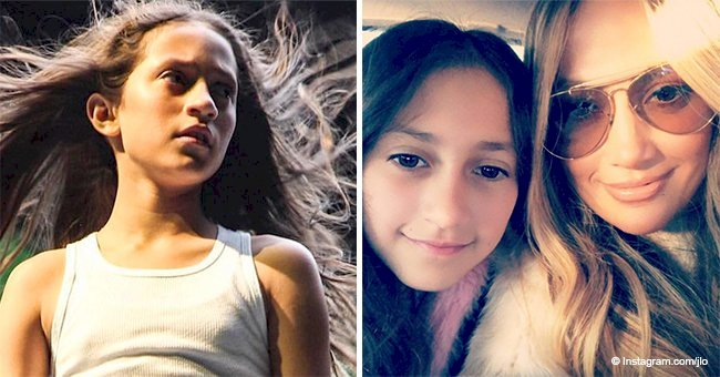 'Beautiful clone!': Jennifer Lopez's daughter is dancing and singing in  mom's new music video