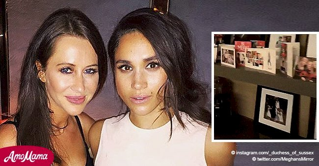 Meghan Markle's friend shares a video accidentally showing unseen photos from the royal wedding