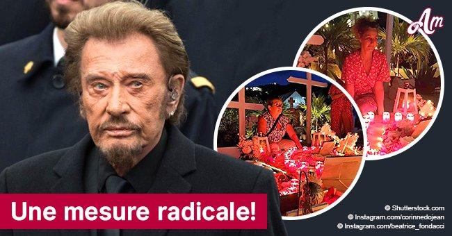 Johnny Hallyday: L'accès à sa tombe est maintenant limité!