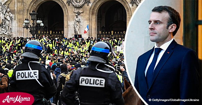 """""""Gilets jaunes"""": Le gouvernement propose une somme surprenante en guise de prime à la police"""