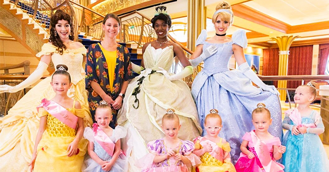 Danielle Busby of 'OutDaughtered' Fame's 6 Daughters Dressed like Little Princesses