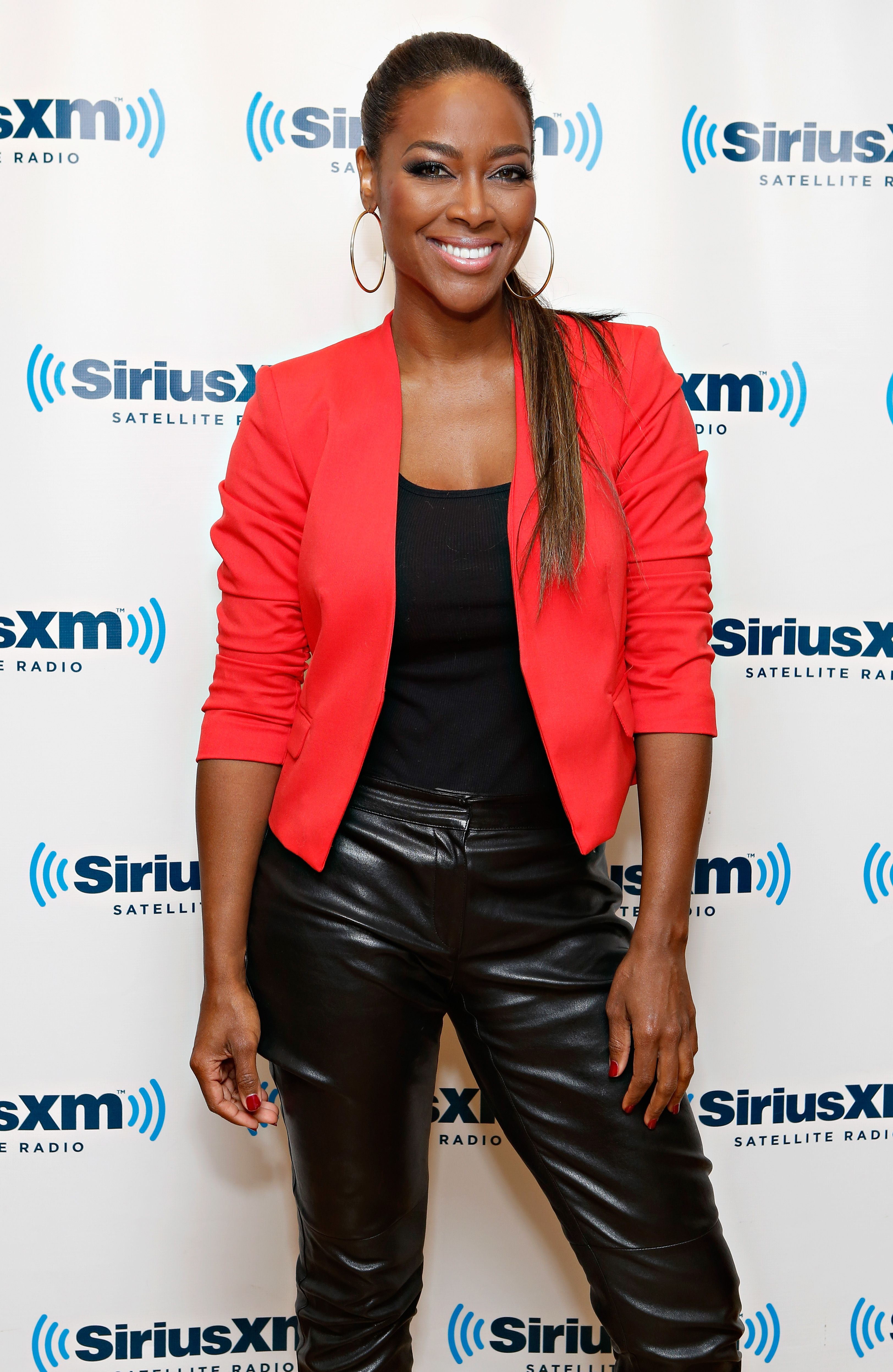 Kenya Moore at the SiriusXM Studios on November 27, 2012 in New York City  | Photo: Getty Images