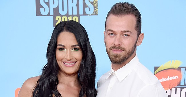 DWTS' Artem Chigvintsev Holds Son in a Sweet Pic as He Praises Fiancée Nikki Bella's Parenting