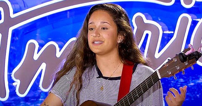 """American Idol"" alum Avalon Young performing on stage 