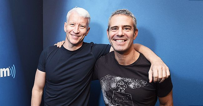 See the Sweet Photo Andy Cohen Shares of His Son Benjamin Sweeping While Anderson Cooper Reads