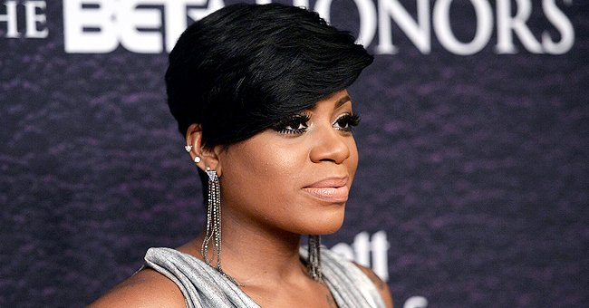 Fantasia Barrino Of American Idol Fame Shows Off Short Hair And Hourglass Figure In A Photo